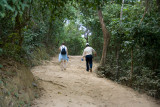 Hiking to Phnom Bakheng, the 1st major temple built in the Angkor area