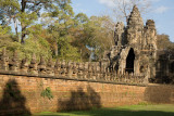 The approach to the Royal City of Angkor Thom