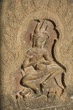 Apsaras - one of the two thousand mythical dancers that decorate Angkor Wat