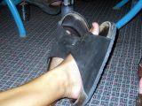 Leah's feet