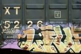 Rail graffiti