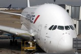 First trip in an A380 Airbus