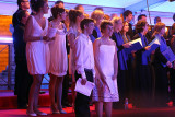 Singing Ode to Joy (An die Freude) the European anthem on National Day