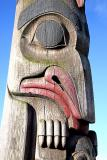 Totempole by the waterfront