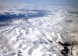 Crossing a frozen Scotland