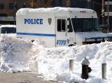 Snowed-in police