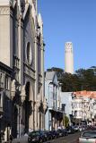 View of the Coit Tower