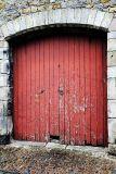 Door in old building
