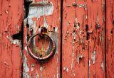 Details of the door