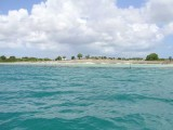 The owner of this small island built an artificial reef which destroyed the beaches