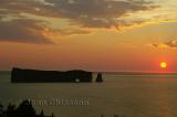 Lever de Soleil  Rocher - Percé