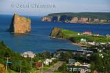 Ville de Percé et  L'île Bonaventure