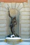 Le pêcheur à la Nigogue Sculpteur ( Louis-Philippe Hébert )
