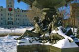 Québec- La fontaine de Tourny (1854 )
