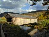 covered bridge in the evening.....