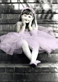 lavender ballerina...