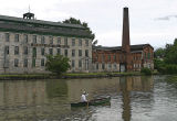 mill with canoer...