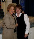 Dr Antonia Novello with photographer...