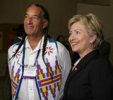 Kevin Loche and Senator Clinton
