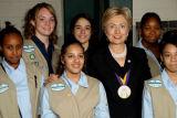 Senator Clinton with the GSA