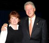 Linda and President Bill Clinton