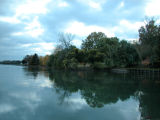 full shore reflection...