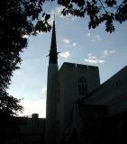 church sillhouette...