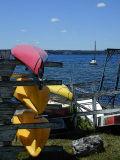 kayaks on seneca lake...