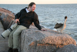 Me and a Brown Pelican