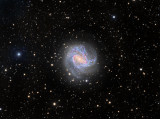 M83 HaLRGB 40 130 60 30 50 with 12.5 inch RCOS scope data as well
