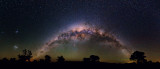 Milky Way and Magellanic Clouds 11 Panel mosaic