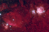 Orion Area Ha LRGB 15 15 15 15