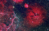 Gum Nebula O111HaLRGB 30 60 45 30 30 15