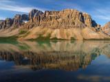 Bow Lake - Crowfoot Mountain