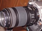 350D and EF 70-300mm /f4-5.6 IS USM