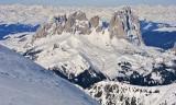 Esquí en Dolomitas 2011