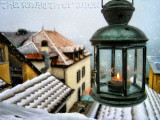 The warmth of snow...