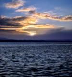 Floating sunrise...
