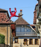 Estavayer-le-Lac - The little town of frogs