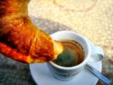 Morning on a café terrace  2