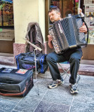 The accordionist who played Bach...