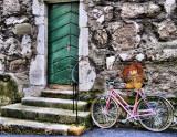 Girlish bike...