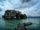 The island...