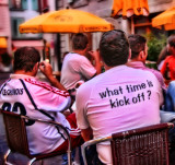 What time is kick off?