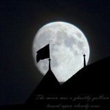 The moon was a ghostly galleon...