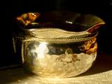 Silver in golden light....