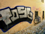The tagger's bike