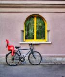 The bike which loved children