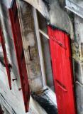 Little secret behind a shutter...