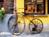 The bike which felt very classic